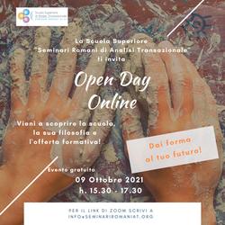 Open Day online 9.10.21