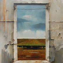 Oil on canvas 100x70 cm.