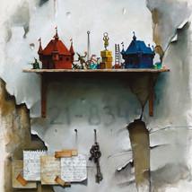 Oil on canvas 60x50 cm.