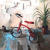 Oil on canvas 100x100 cm.