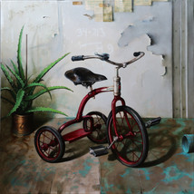Oil on canvas 80x80 cm.