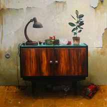 Oil on canvas 150x130 cm.
