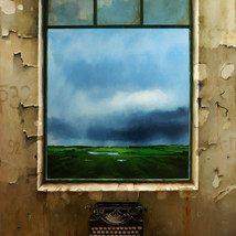 Oil on canvas 190x120 cm.