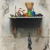 Oil canvas 40x30 cm.