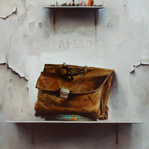 Oil on canvas 80x70 cm.