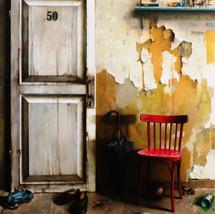 Oil on canvas 190x150 cm.