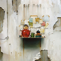 Oil on canvas 145x120 cm.