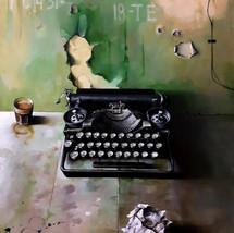 Oil on canvas 80x60 cm.