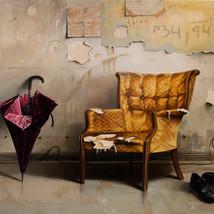 Oil on canvas 150x190 cm.