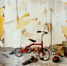 Oil on canvas 110x200 cm.