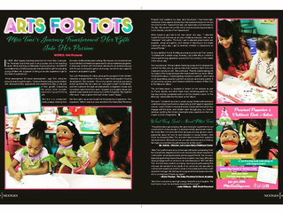"Featured Article: NextGen Magazine, ""Arts for Tots""."