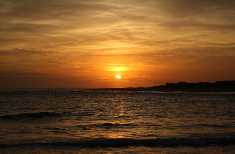 Sunset   Oak Island, NC