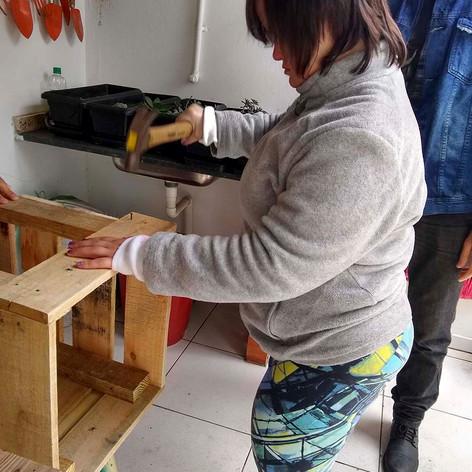 Oficina de madeira