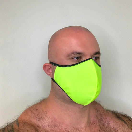 Neon Yellow Mask