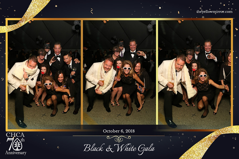 The Yellow Mirror photo booth brings the fun to the Chestnut Hill Gala