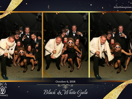 The Yellow Mirror brings the fun to the Black & White Gala