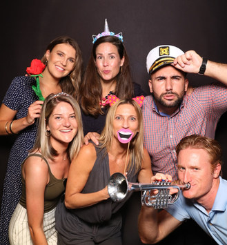 the yellow mirror photo booth corporate event