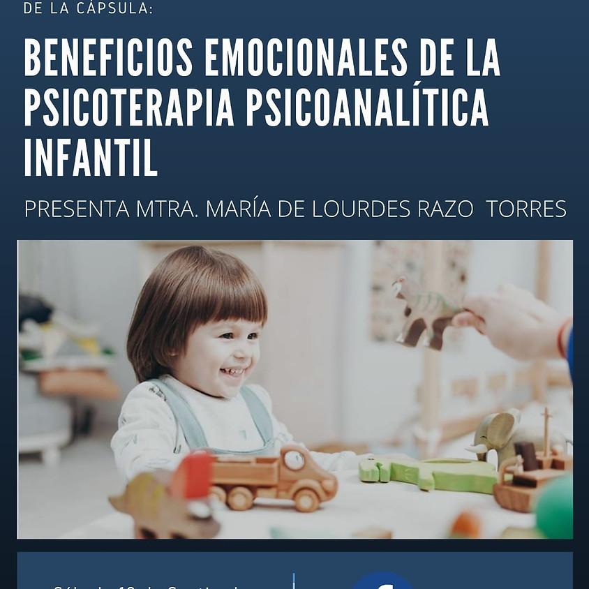 Cápsula: Beneficios emocionales de la Psicoterapia Psicoanalítica Infantil