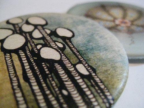 Enoki Mushrooms (art)