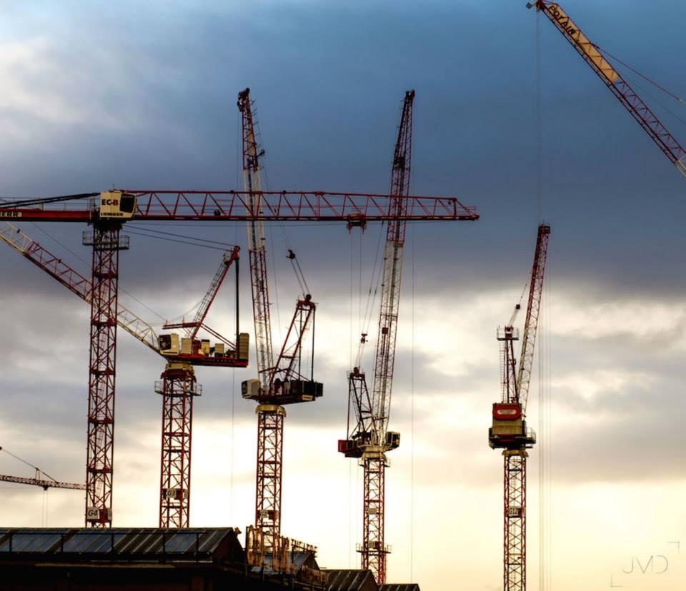 Metro Construction Site - Paris