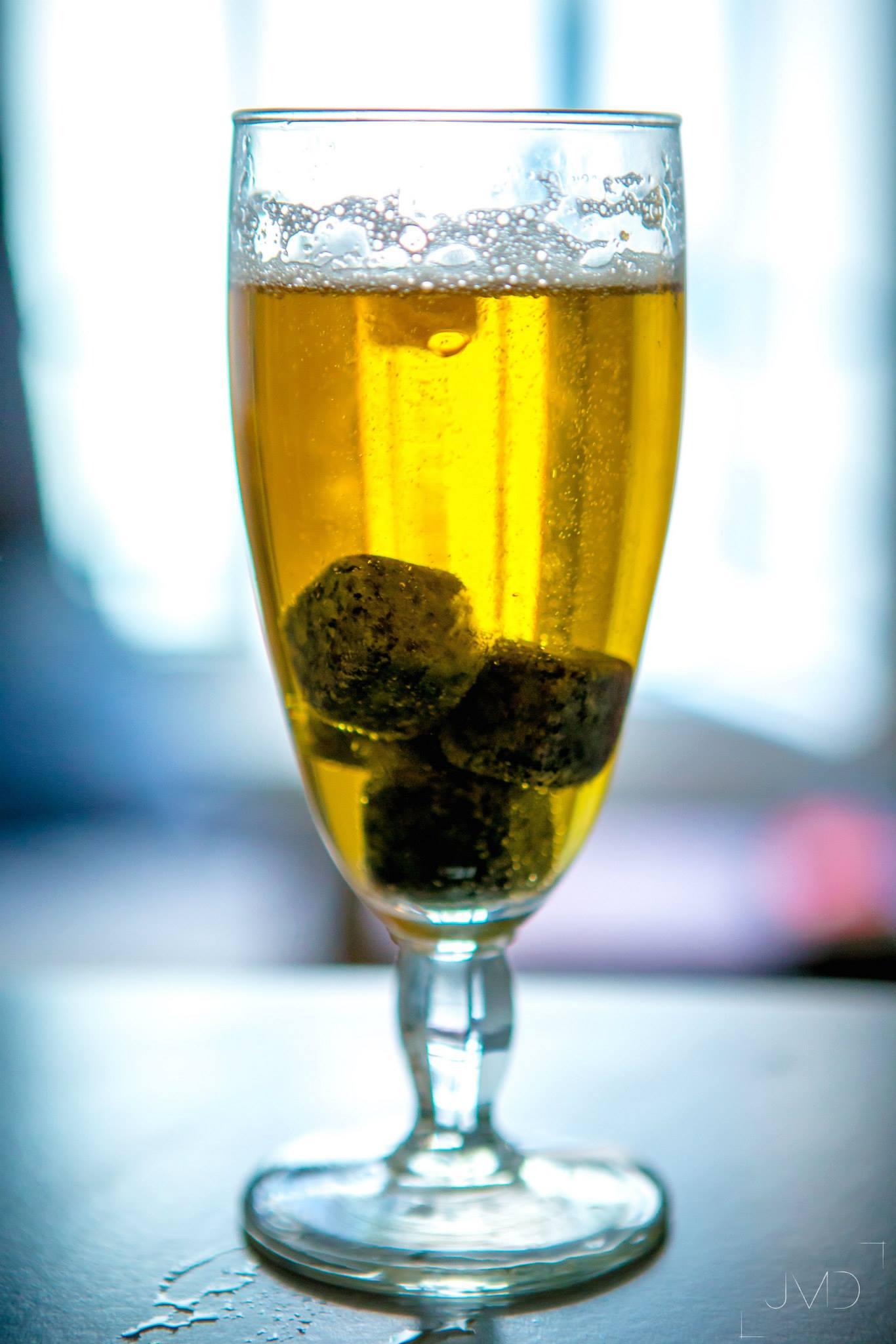 Bier on the rocks