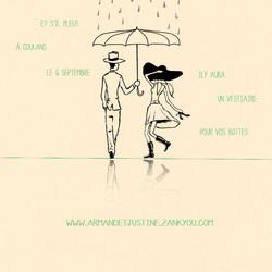 Encart de faire-part - Mariage A&J
