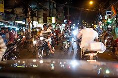 Avec plus de 9 millions de scooters, la ville fourmille.