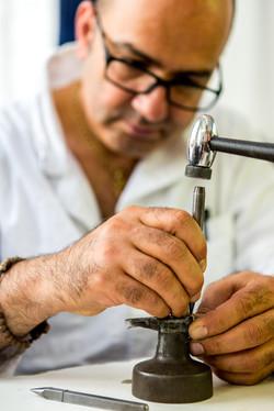 Atelier parisien de joaillerie.
