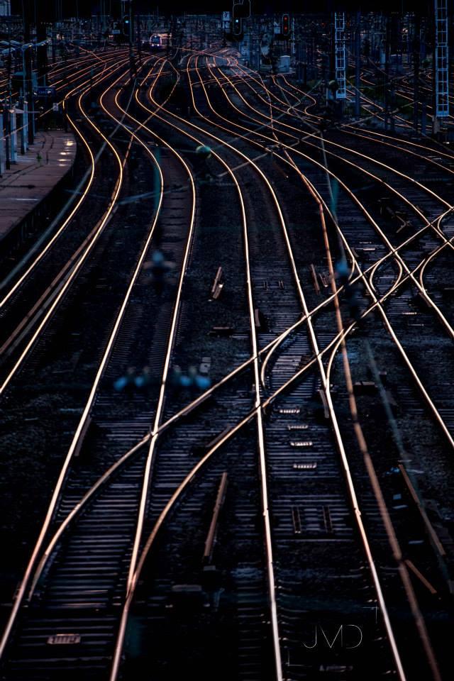Railway, Pont Cardinet, Paris