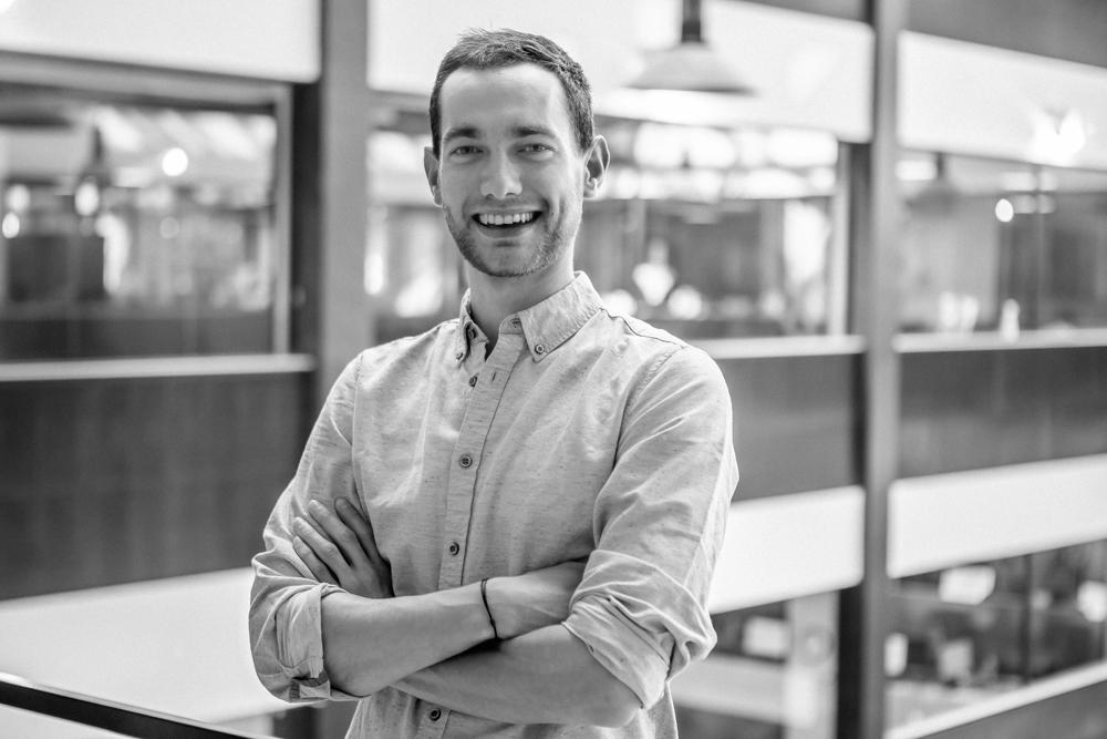 Portrait de startuper