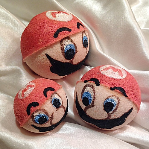 """Sweet Toons""Mario Inspired Sparkling Soaks"