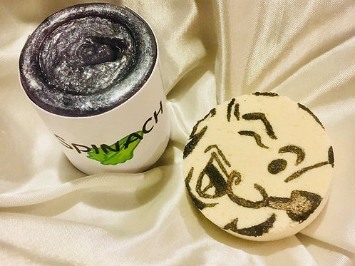 """""""Sweet Toons"""" Giveaways, The Sailor Man/ Inspired Spinach Soap"""