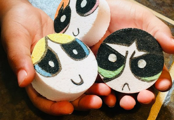 """""""Sweet Toons"""" Giveaways, Power Puff Girls / Candy is Dandy / Inspired Candy Soap"""
