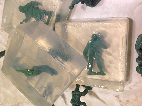 mini. Collectable Toy Soldiers Spa Bars