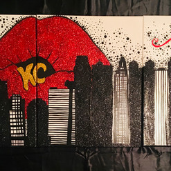Kansas City Sky Line Pop-Art
