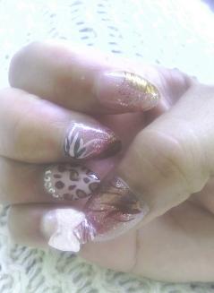 Sculpted Nail Art