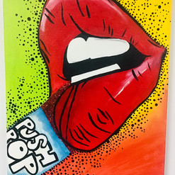 Lip Pop-Art_Push Pop