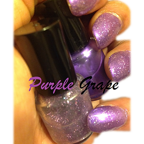 Purple Grape Wrappers Nail Laquer Duo
