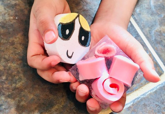 """""""Sweet Toons"""" Giveaways, Power Puff Girls Set"""