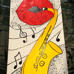 Saxophone Pop-Art