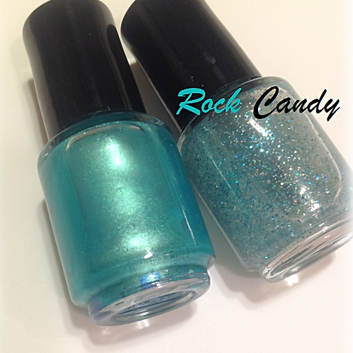Rock Candy Wrappers Nail Laquer Duo