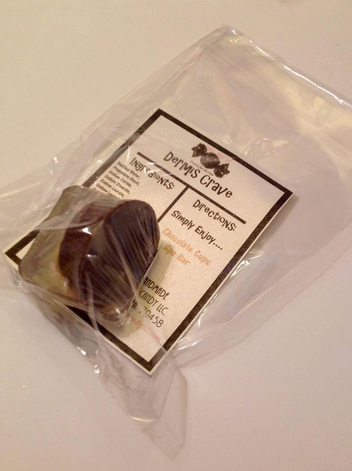 mini Chocolate Cup Spa Bar