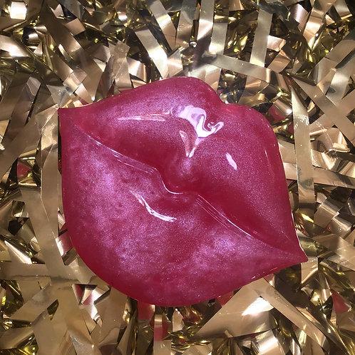 """Mrs. Jones""Kisses, Lip Inspired Spa Bar Set - 100% GLYCERIN SOAP"