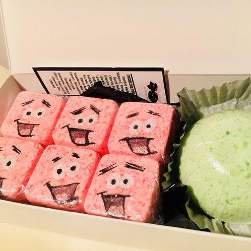 """""""Sweet Toons"""" Patrick inspired, Ice Cream Crave Bath Bomb Set"""