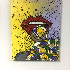 King Cake Pop-Art