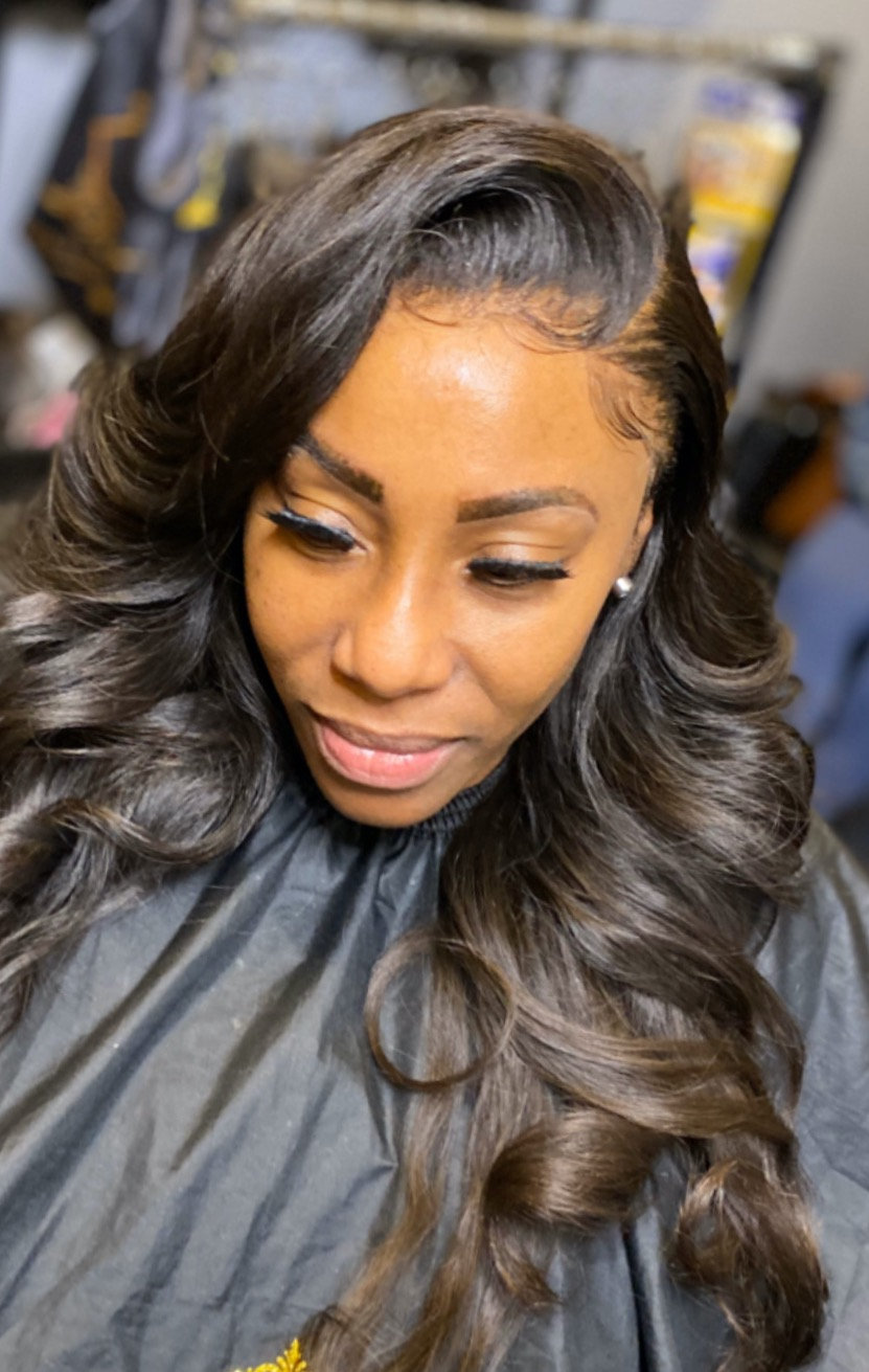 Lace Frontal Sew-In 1-ON-1