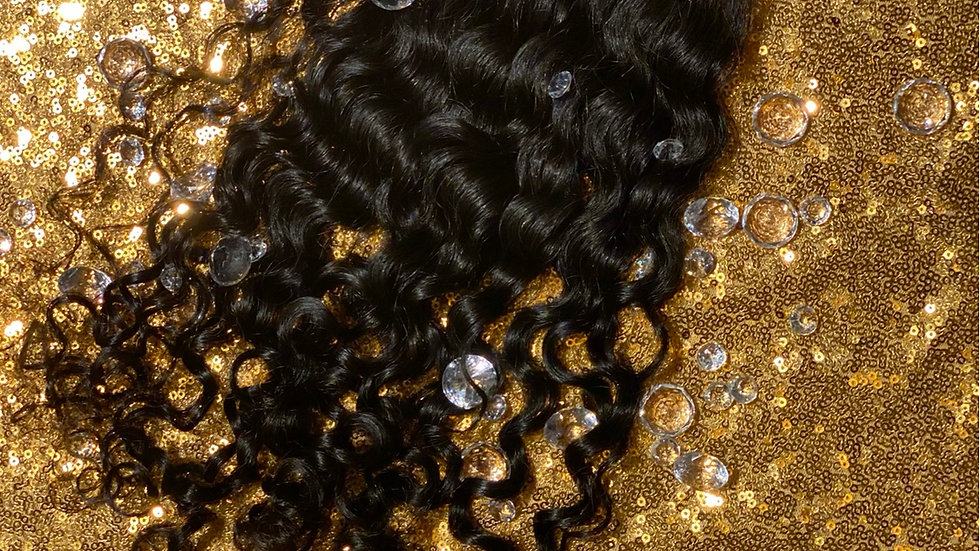 Colombian Curl HD illusion Lace Closure