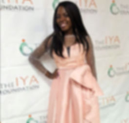 Posing at the IYA FoundationFundraiser Event in Maryland