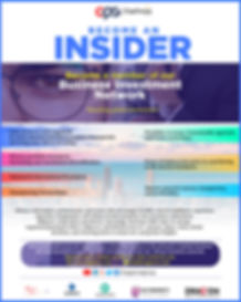 become an insider - network
