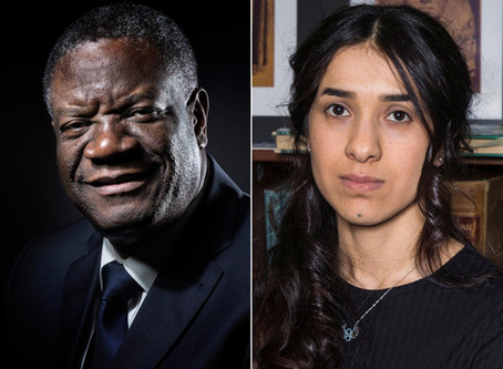 Denis Mukwege and Nadia Murad: Who are the Nobel Peace Prize 2018 winners?